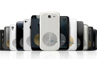 Pour l'instant, le Fazup n'est compatible qu'avec 13 mobiles. Ils devraient être bientôt 40.