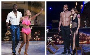 Ladji Doucouré et Inès Vandamme, finalistes de «Danse avec les stars» saison 10 face à Sami El Gueddari et Fauve Hautot.
