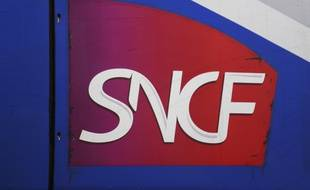 Le logo de la SNCF. Illustration