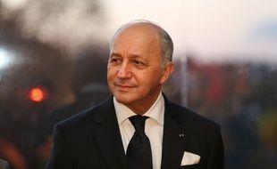 Laurent Fabius, ministre des Affaires étrangères, le 28 octobre 2015 au domaine de la Celle Saint-Cloud.