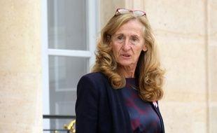 La ministre de la Justice Nicole Belloubet, le 3 octobre 2018 à l'Elysée.