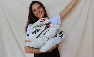 Laure Babin, 23 ans, vient de lancer sa marque de chaussures écolo.