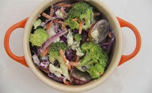 Une bonne salade de brocolis permettrait de réduire les risques de développer un diabète (illustration).