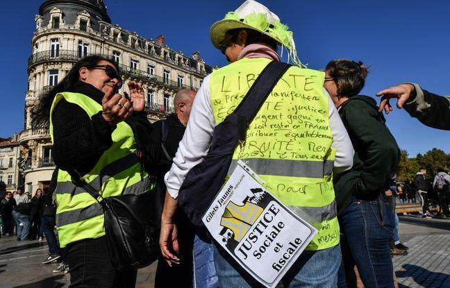 «Gilets jaunes» à Montpellier: Sept interpellations et une manifestante blessée