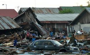Un tsunami a dévasté l'île des Célèbes, en Indonésie.