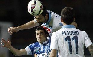 Trois buts contre son camp ont été inscrits lors de la rencontre entre Empoli et Naples le 30 avril 2015.