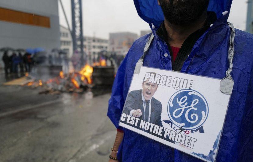General Electric à Belfort: 2.600 personnes manifestent contre le plan social