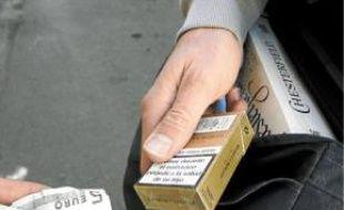 Le trafic de tabac augmente.