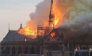 L'incendie de la cathédrale Notre-Dame de Paris s'est déclaré à 18h50, lundi 15 avril 2019