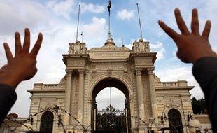 Le palais présidentiel du Caire, en Egypte, le 29 novembre 2013.