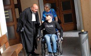 """La cour d'assises spéciale de Paris a condamné à 13 ans de réclusion Dominique Pasqualaggi, jugé comme """"meneur"""" d'une cellule du FLNC du 22 octobre aujourd'hui disparu, pour dix attentats commis entre 2004 et 2006"""