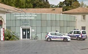 Le commissariat de la place de la Comédie à Montpellier.
