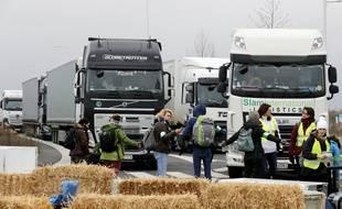 Un blocage a déjà eu vendredi à l'entrepôt de Brétigny-sur-Orge.