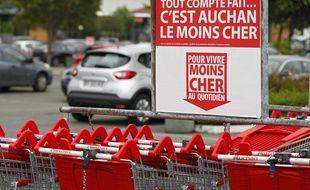 Illustration d'un supermarché de l'enseigne Auchan (à Noyelles-Godault).