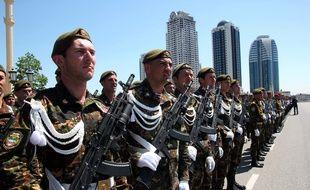 Les forces spéciales tchétchènes à Grozny en 2013. (Illustration)
