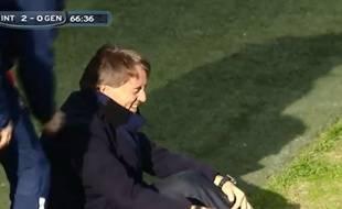 Capture d'écran de Roberto Mancini, le 11 janvier 2015