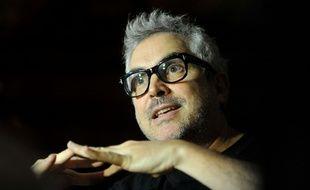 Le réalisateur mexicain Alfonso Cuaron, le 24 janvier 2015, à Kustendorf, en Serbie.