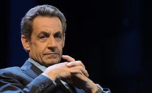 Nicolas Sarkozy, illustration.