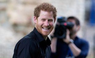 Le prince Harry à Londres