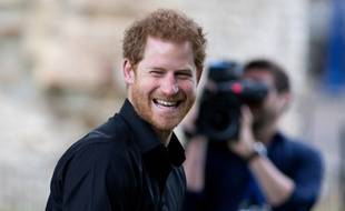 Le prince Harry à Londres