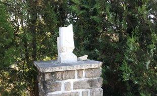La statue de la Vierge Marie de Montaud, dans l'Hérault, a été retrouvée décapitée.
