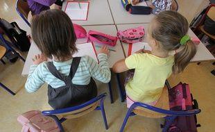 Strasbourg le 04 09 2012. Rentrée des classes. Illustrations