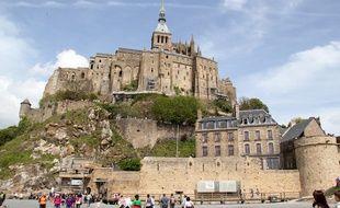 Image du Mont Saint-Michel, ici photographié en mai 2015.