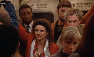 Joie du métro sans cesse renouvelée (Seinfeld) — Seinfeld