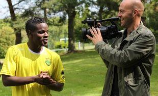 NANTES, le 19/06/2012 Damien MAYENGA, nouvelle recrue du FC Nantes