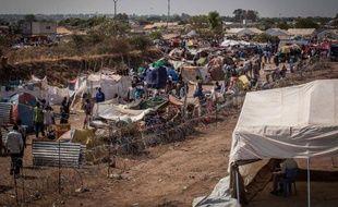 Un camp de réfugiés des Nations Unies à Juba (Soudan du Sud) le 7 janvier 2014