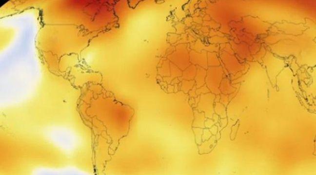 VIDEO. La preuve du réchauffement climatique en 15 secondes