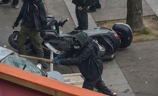 283 personnes avaient été arrêtées à l'issue de la manifestation du 1er-Mai, dont 102 placées en garde à vue.