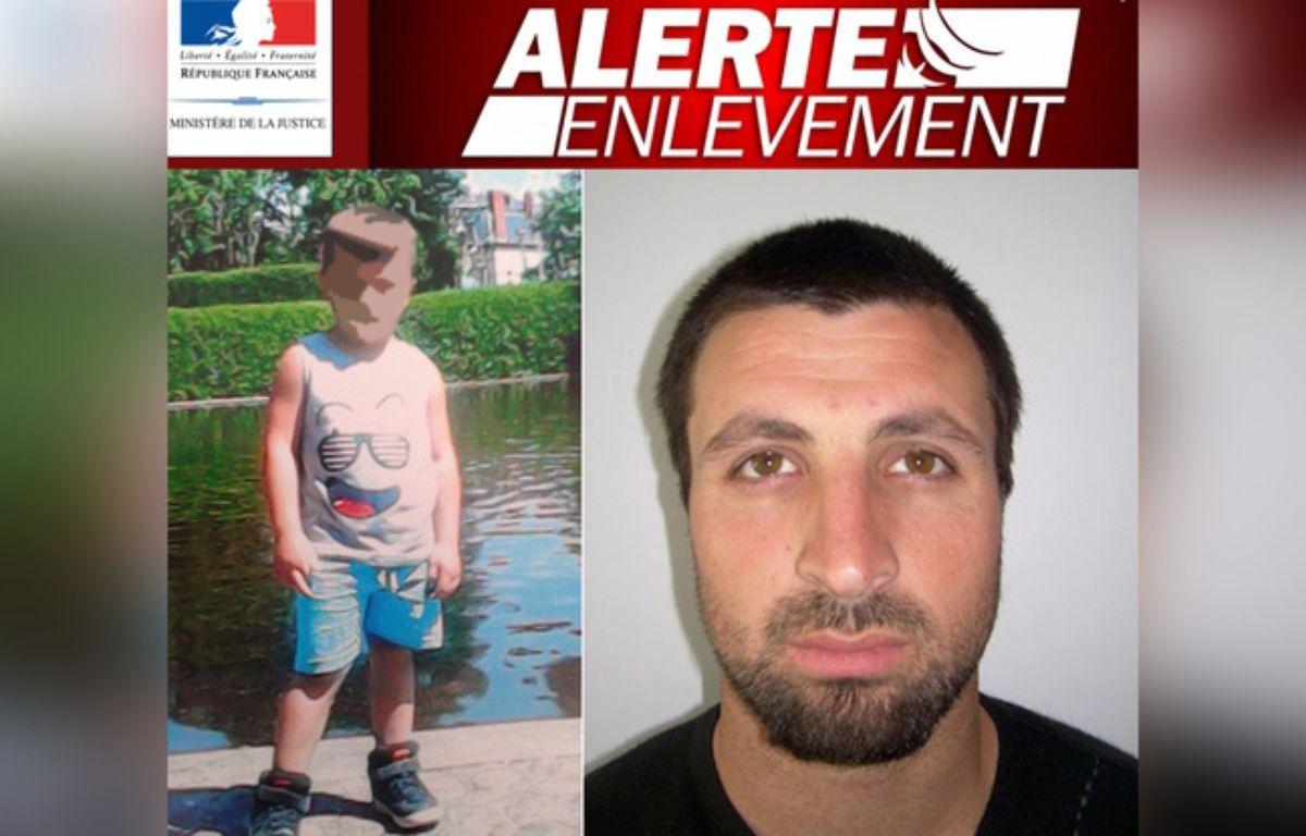 Le dispositif alerte enlèvement avait été déclenché mercredi 29 mars 2017 pour retrouver Vicente.  – Ministère de la justice