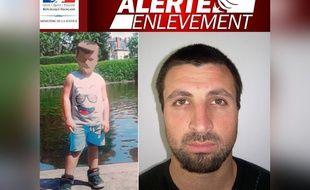 Le dispositif alerte enlèvement avait été déclenché mercredi 29 mars 2017 pour retrouver Vicente.