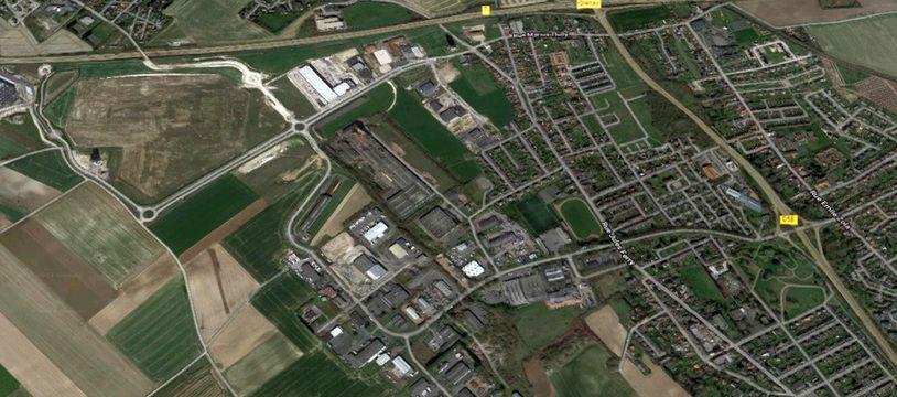 La ZAC de l'Alouette, dans le Pas-de-Calais.