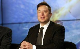 Elon Musk en Floride le 19 janvier 2020.