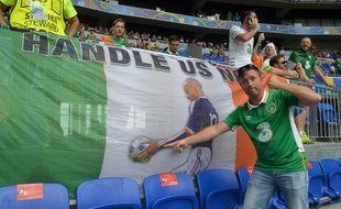 Comme beaucoup de supporters irlandais, Brian n'a toujours pas digéré la main de Thierry Henry, sept ans après.