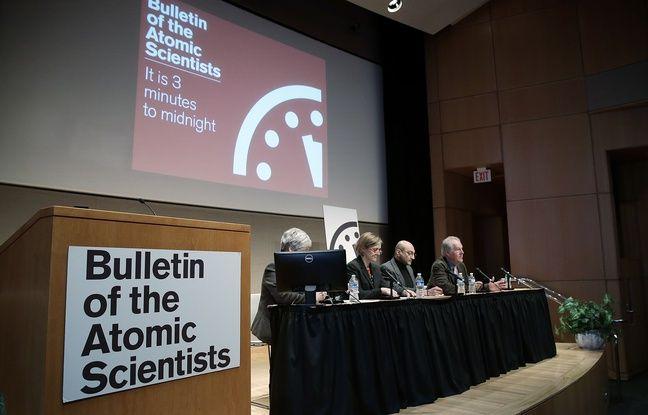 La Prophétie de la Symétrie Miroir - Page 24 648x415_scientifiques-bulletin-of-the-atomic-scientists-lors-conference-presse-washington-22-janvier-2015-apres-horloge-apocalypse-avancee-deux-minutes