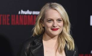 Elisabeth Moss le 20 avril 2018 à Los Angeles.