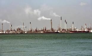 Une raffinerie de pétrole à Singapour
