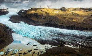 Le glacier Vatna en Islande, le 4 octobre 2019 (illustration).