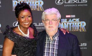Les époux Mellody Hobson et George Lucas