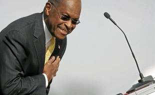 Herman Cain abandonne, mais créé un site TheCainsolutions.com.