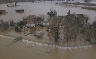 Jean Castex est attendu dans le Sud-Ouest ce vendredi 5 février 2021, inondé à la suite du passage de la tempête Justine.