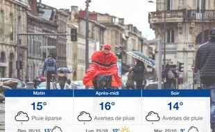 Météo Bordeaux: Prévisions du samedi 19 octobre 2019