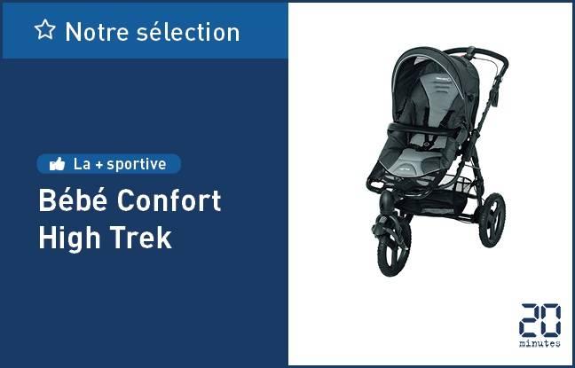 La poussette à trois roues High Trek de Bébé Confort.