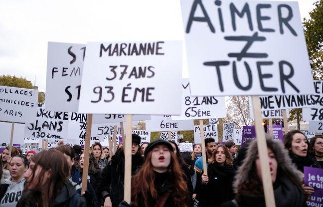 Au moins 122 féminicides en France en 2019 selon l'AFP, un bilan en légère hausse par rapport à 2018