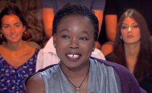 L'autrice Fatou Diome dans «Clique», le 2 septembre 2019.