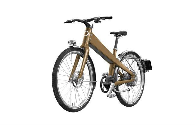 Le nouveau vélo à assistance électrique Coleen présenté au CES 2020.