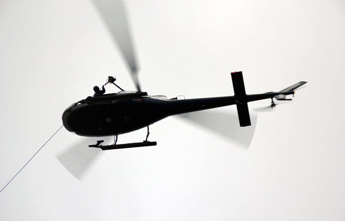 Illustration. Un hélicoptère. – C. Allain / APEI / 20 Minutes